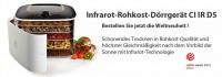 Infrarot-Rohkost-Dörrgerät CI IR D5