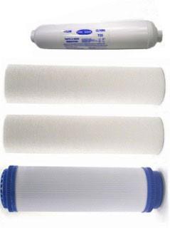 Umkehrosmose - Filter - Ersatzfilter-Set für 5-stufige Profi Umkehrosmoseanlagen
