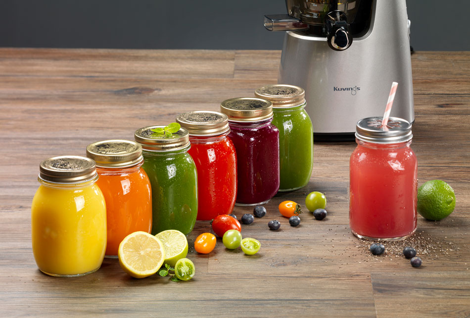 colorful-juice-with-Kuvings-Whole-Slow-Juicer-C9500_2