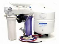 Umkehrosmoseanlage 4-Stufen Profi Umkehrosmoseanlage mit Permeatpumpe 380 Liter Tagesleistung