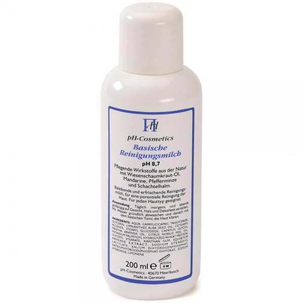 pH Cosmetics Basische Reinigungsmilch pH 8,7 200 ml