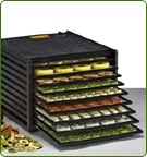 xcalibur dehydrator with 9 or 5 trays